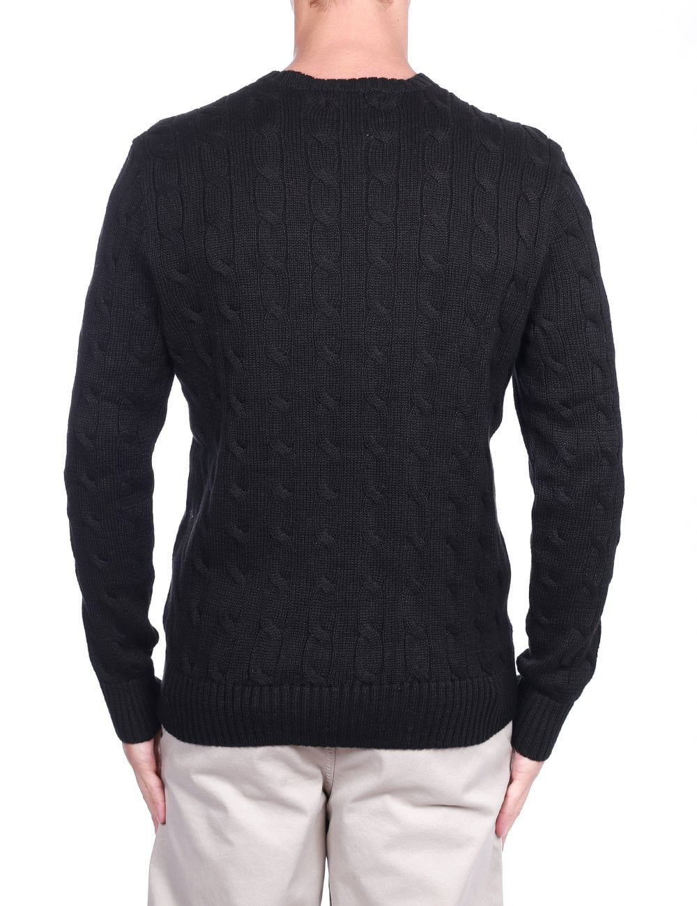 sports shoes 32269 fd495 Crew Neck Pullover Cable Knit
