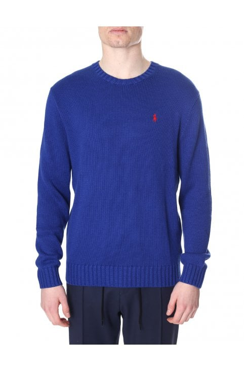 7a969e9579d99 Crew Neck Pullover Knit Jumper · Polo Ralph Lauren Men s Crew ...