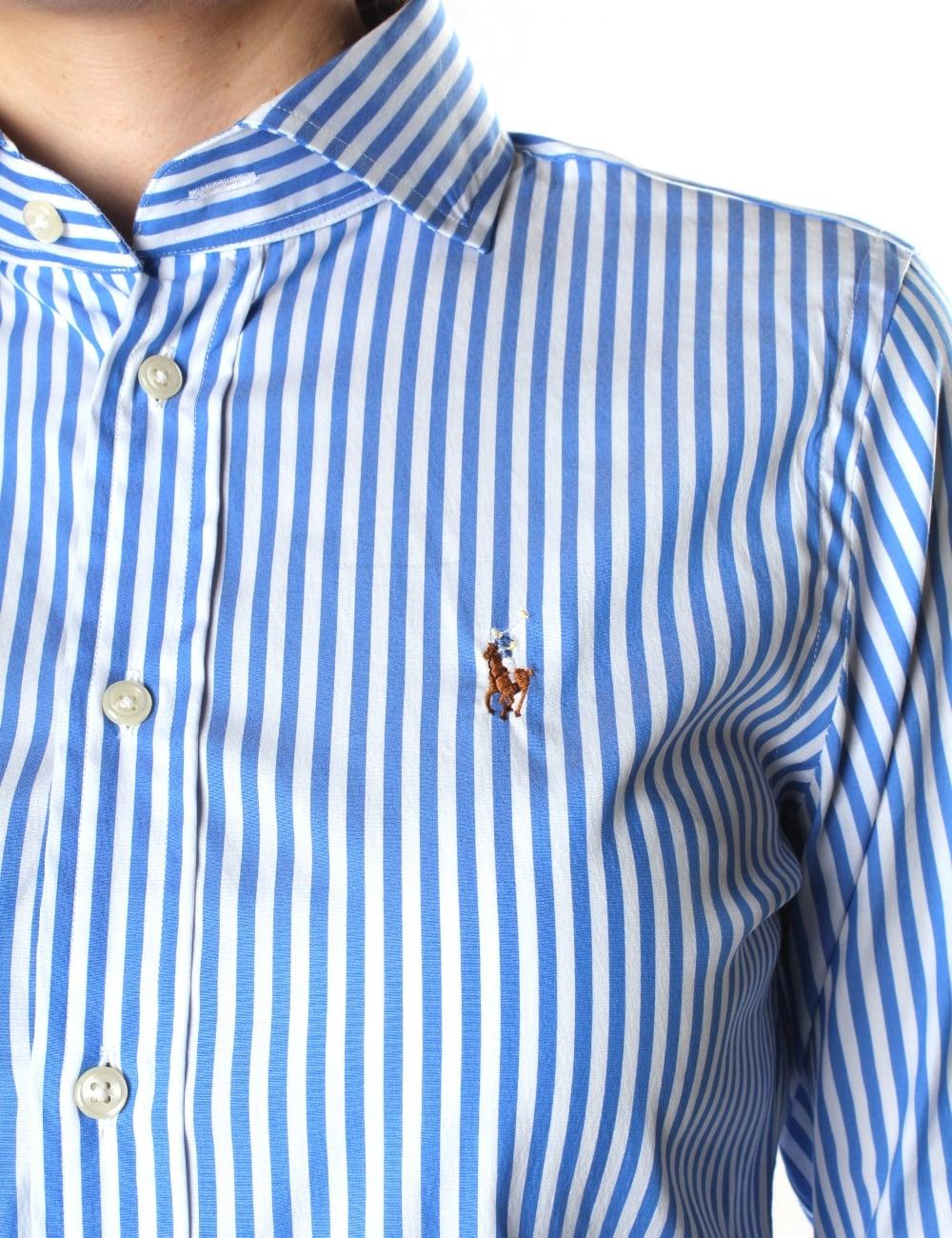 Polo Ralph Lauren Kendal Women s Slim Fit Long Sleeve Shirt aadc1ac00