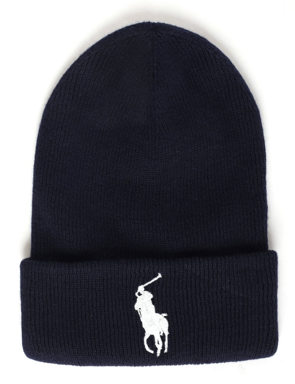 Polo Ralph Lauren Men s Big Pony Cuff Hat Newport Navy f3f38110bd73