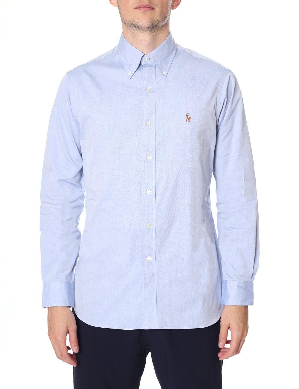 3e59ea444f Polo Ralph Lauren Men s Custom Fit Long Sleeve Shirt