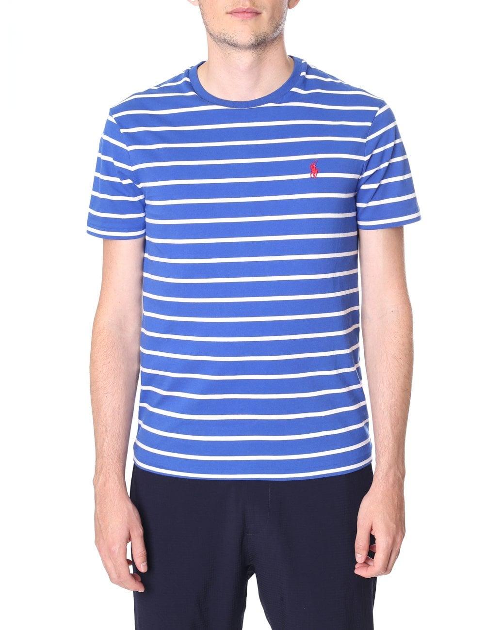 71d1d118 Polo Ralph Lauren Men's Custom Slim Fit Crew Neck Short Sleeve Tee