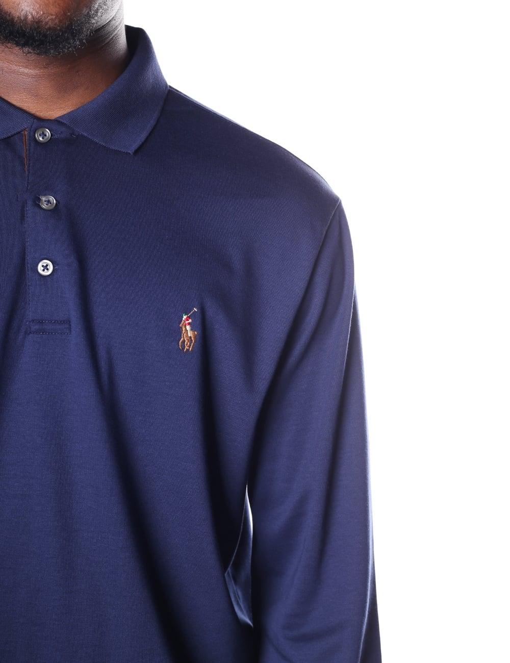 9b0590e16 ... Polo Ralph Lauren Men s Custom Slim Fit Long Sleeve Polo Top. Tap image  to zoom. Men  039 s Custom Slim Fit Long Sleeve ...