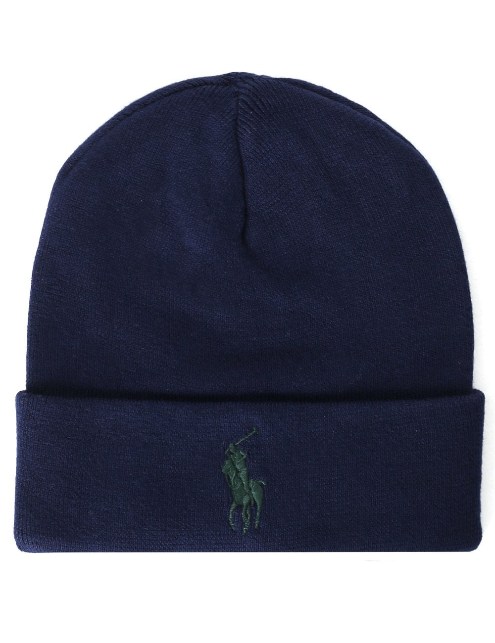 Polo Ralph Lauren Men s Fold Over Beanie Hat 1ce7b8e4e24