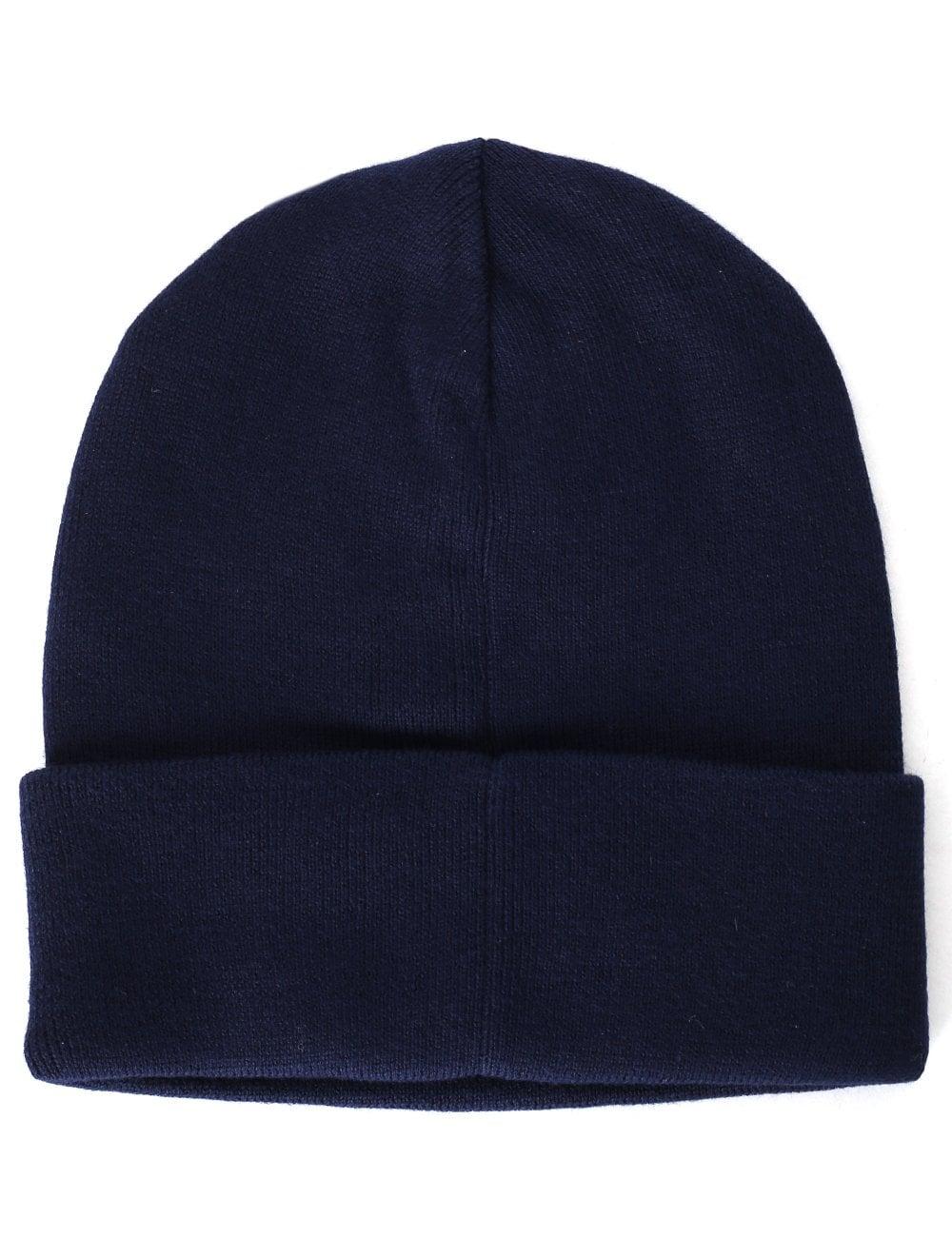 8227663a9a5c Polo Ralph Lauren Men s Fold Over Beanie Hat Blue