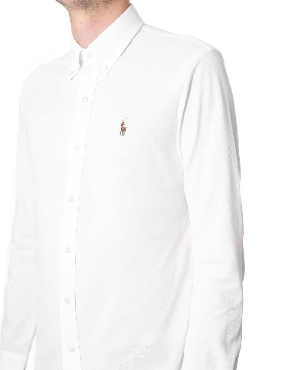 Polo Ralph Lauren Men s Oxford Knit Long Sleeve Shirt 36b87093300e