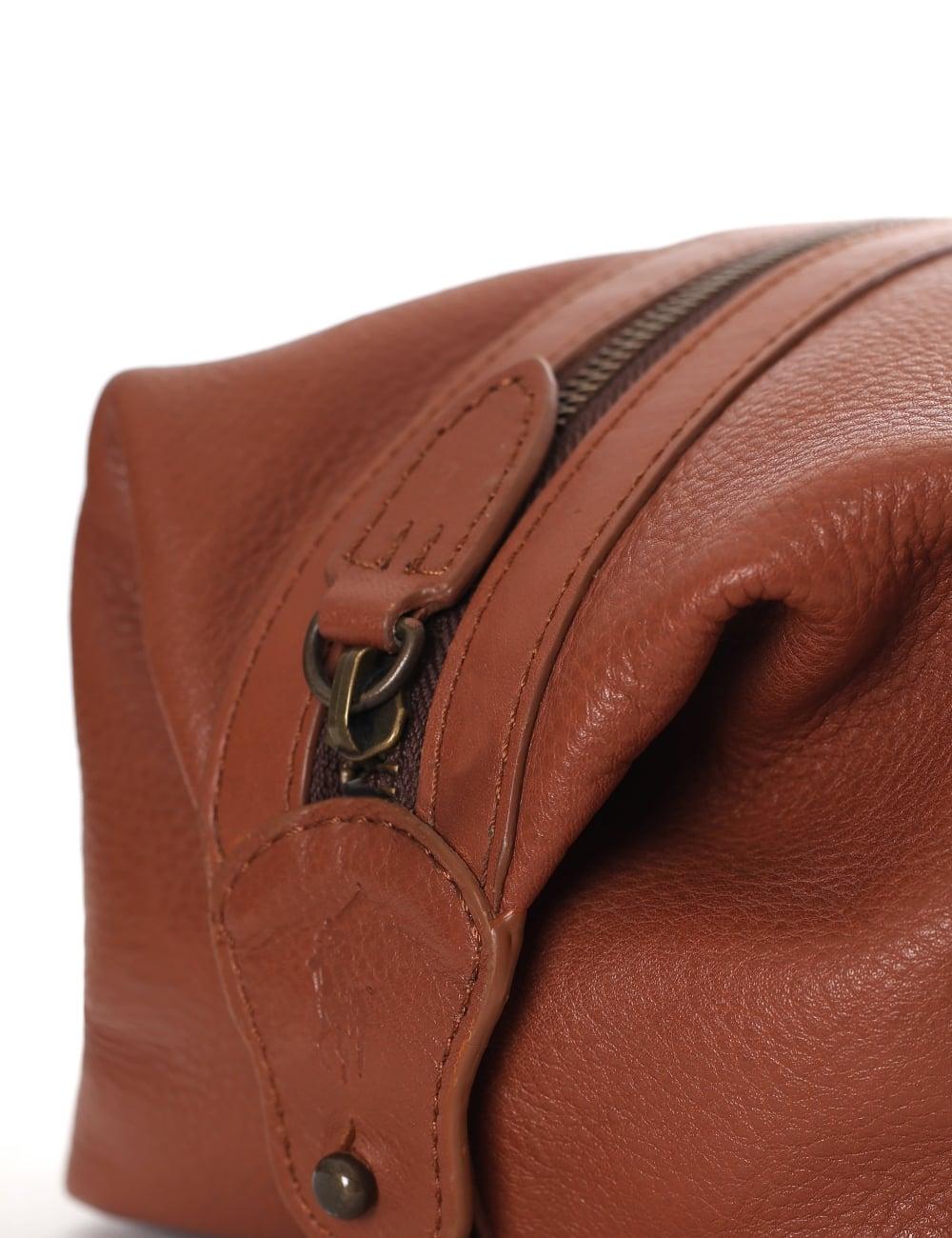99ccb20a592 Ralph Lauren Mens Leather Travel Bag   ReGreen Springfield