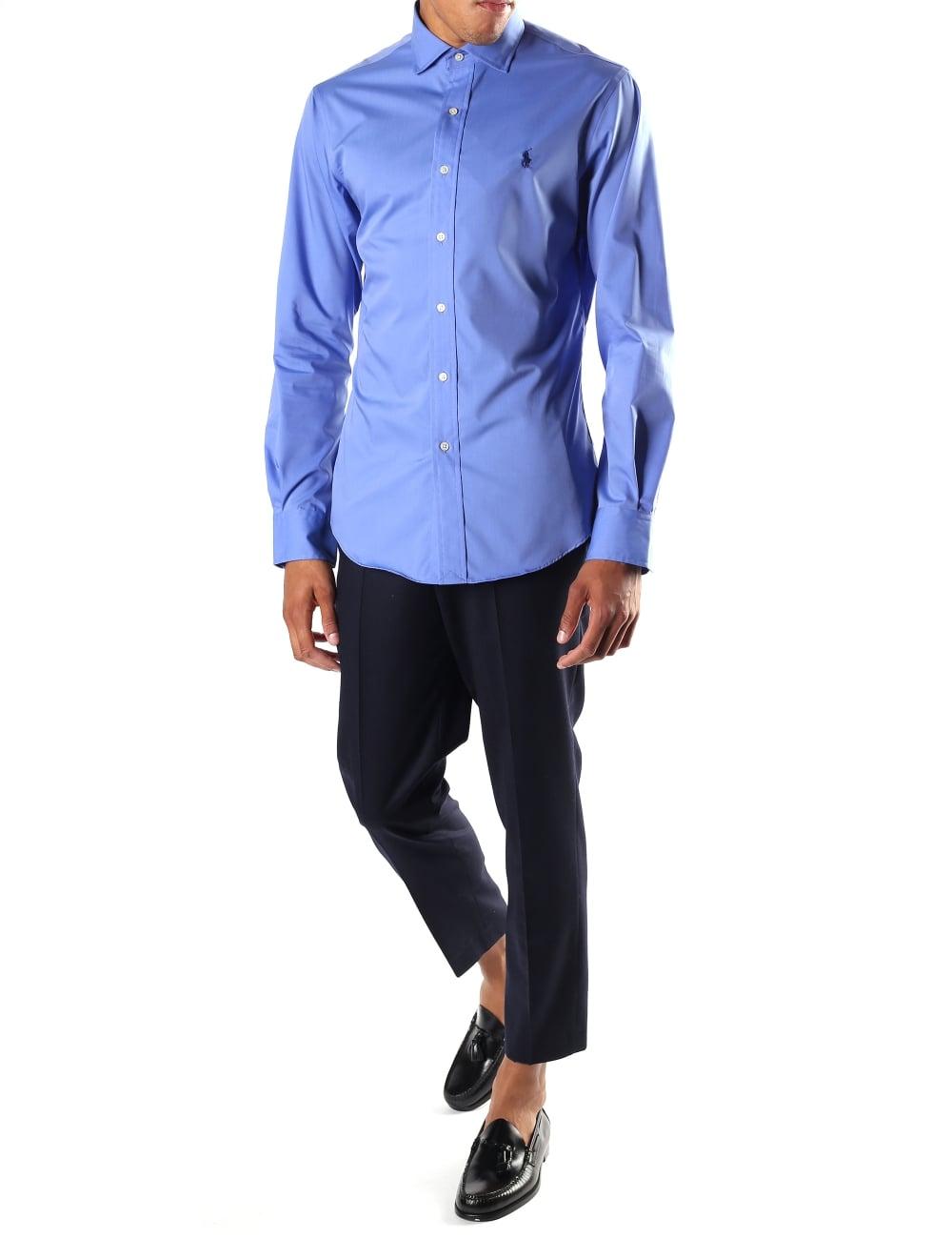 Polo Ralph Lauren Men S Slim Fit Non Iron Shirt