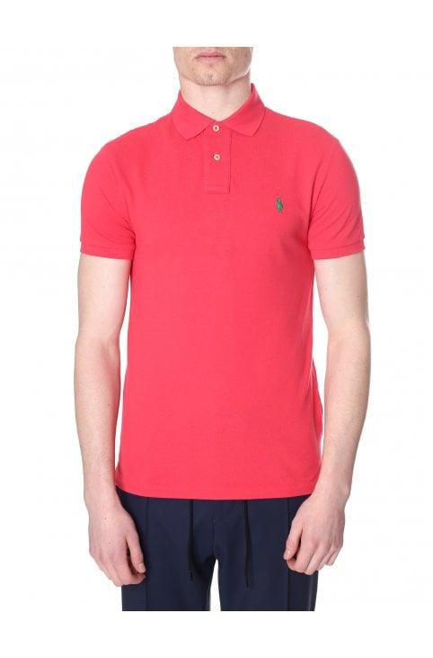 0f4e076c426b Slim Fit Short Sleeve Polo Top · Polo Ralph Lauren Men s Slim ...