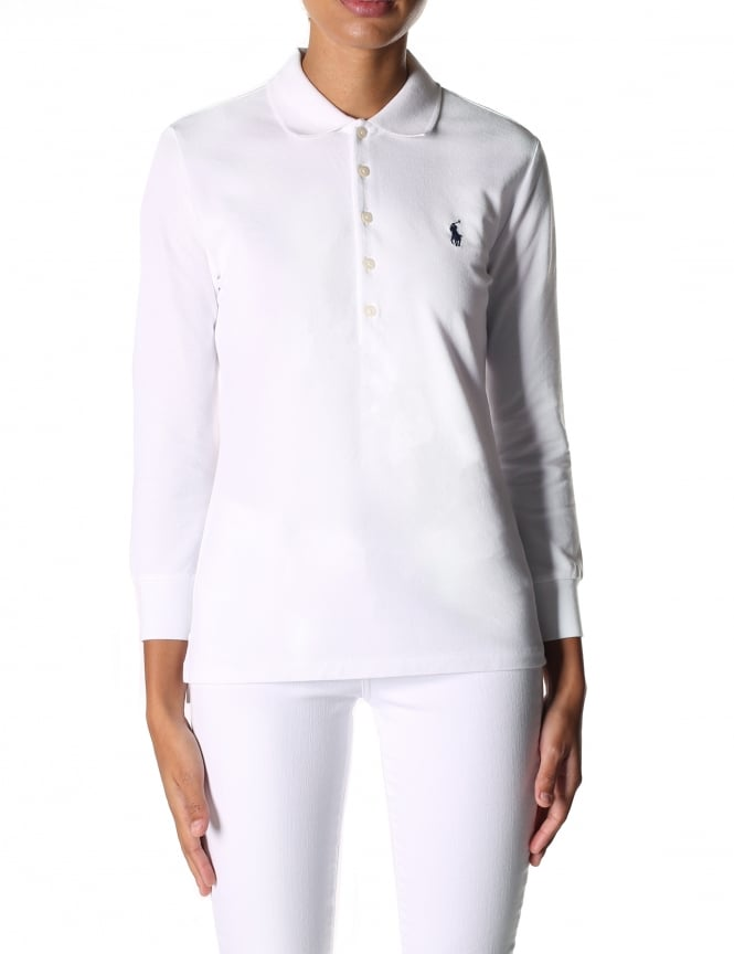 Polo Ralph Lauren Women's 3/4 Julie Polo Shirt