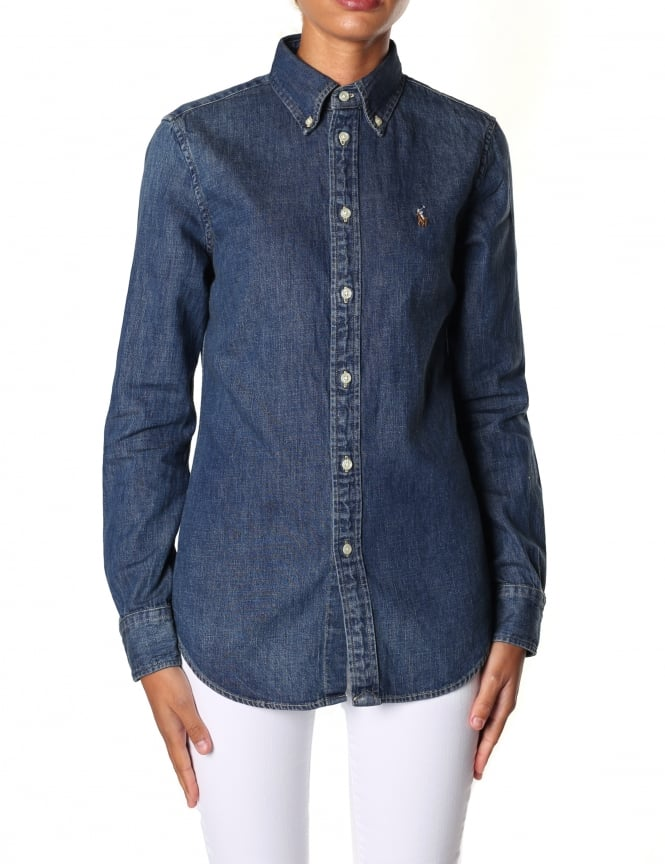 Polo Ralph Lauren Women's Harper Long Sleeve Shirt