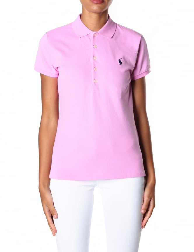 Polo Ralph Lauren Women's Julie Short Sleeve Polo Top