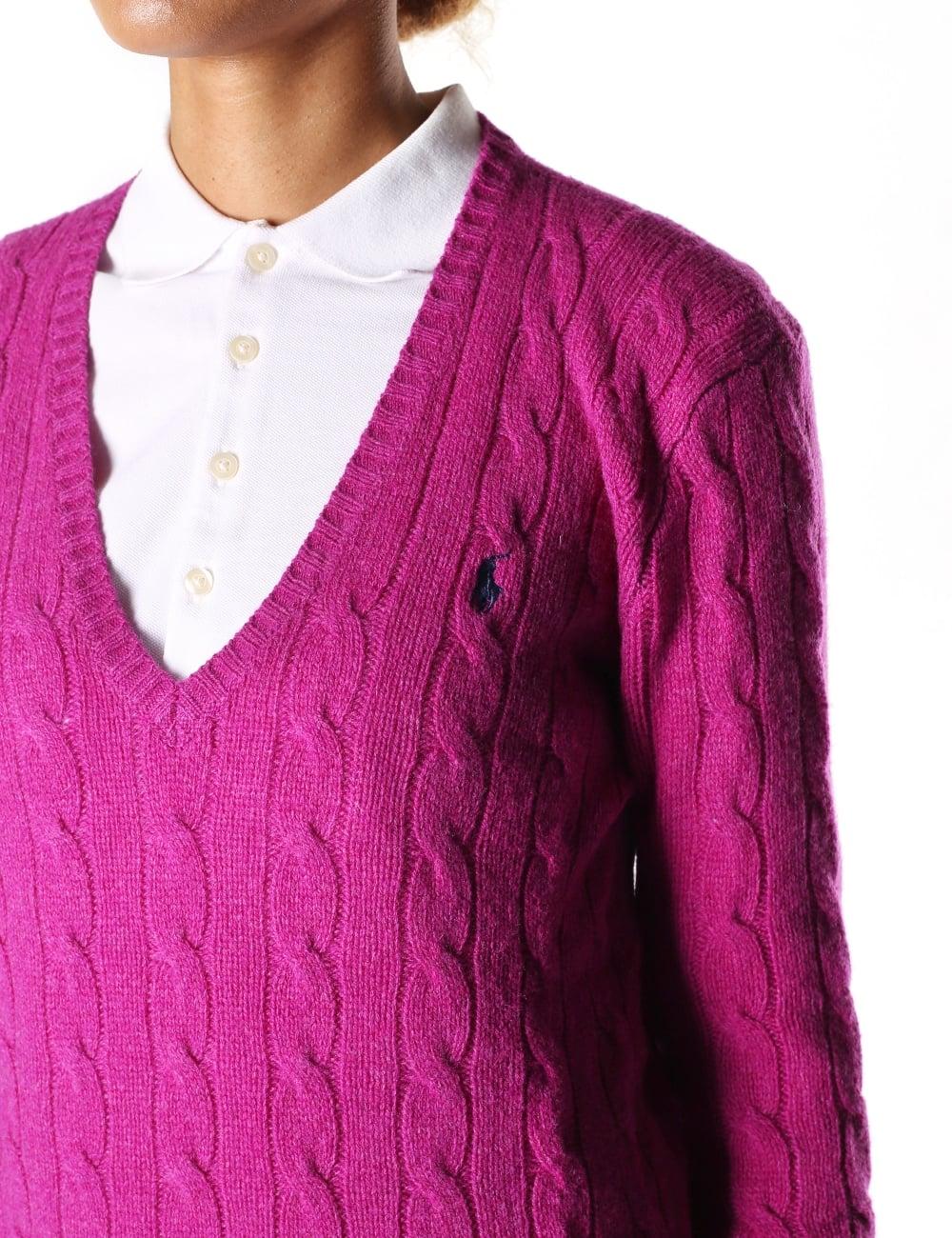 Polo Ralph Lauren Women s Kimberly Classic Long Sleeve Sweater ... 1d419e79fb40