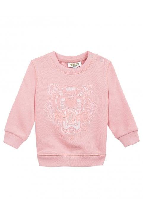 4c00c2a1 Kenzo Baby Girls Tiger JG 2 Bis Sweat Top