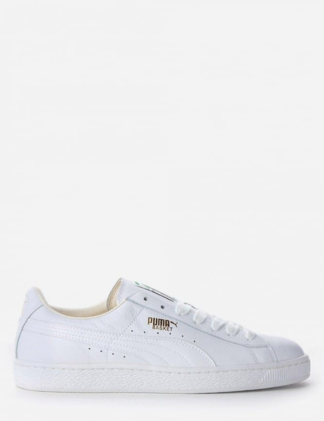 buy popular 27927 ef46a Puma Basket Classic Men's Trainer White