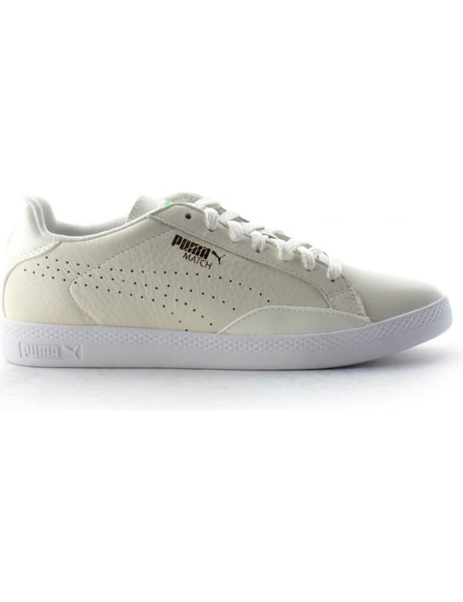 check-out c92ff 23ee9 Puma Match Lo Women's Lace Up Trainer White