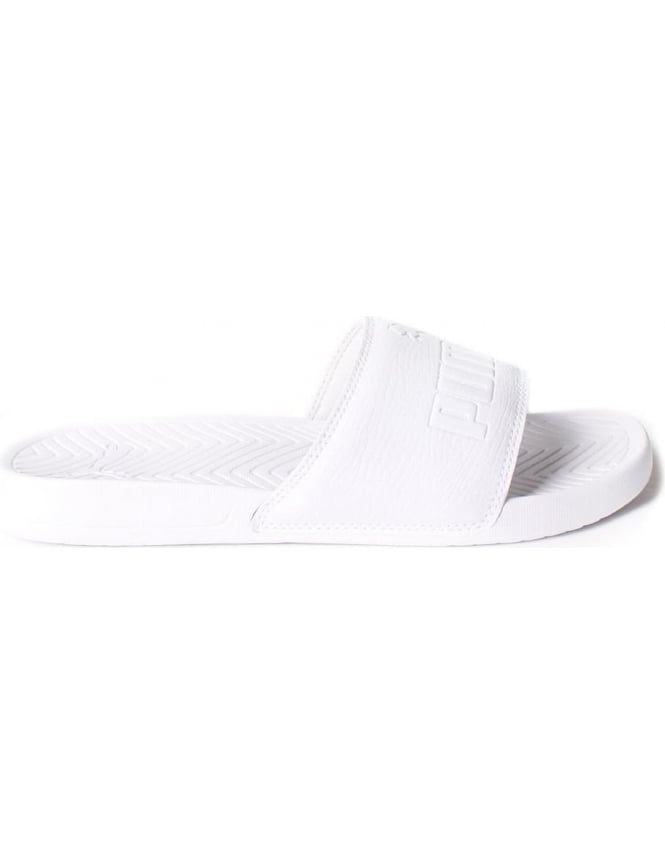 Puma Popcat Men's Sliders White