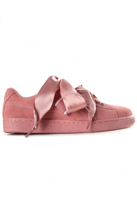 Women's Suede Heart Satin ll Trainer