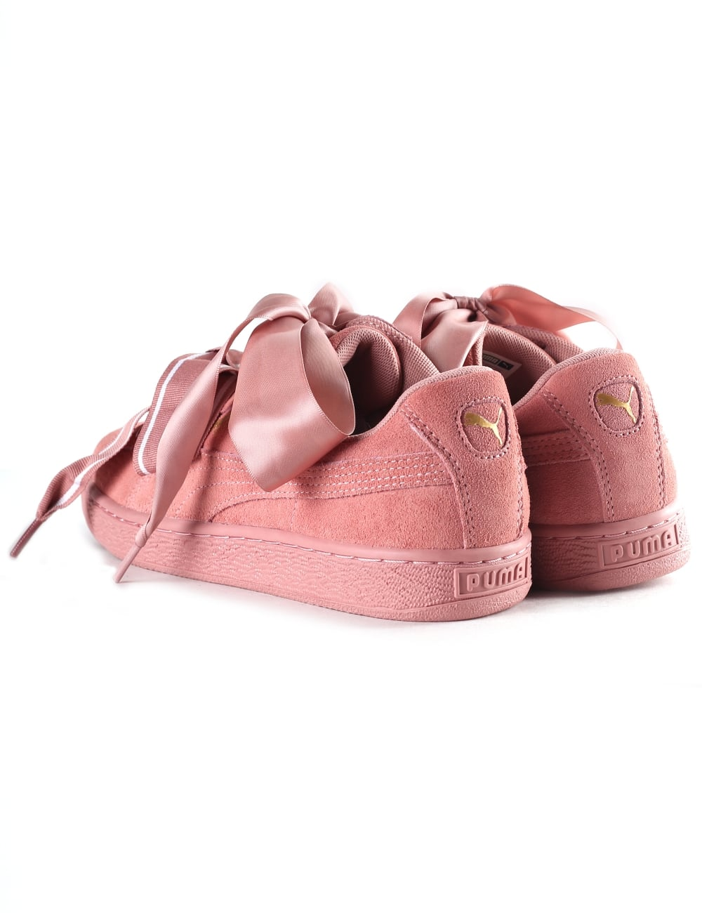 885ad37ff65 Puma Women s Suede Heart Satin ll Trainer
