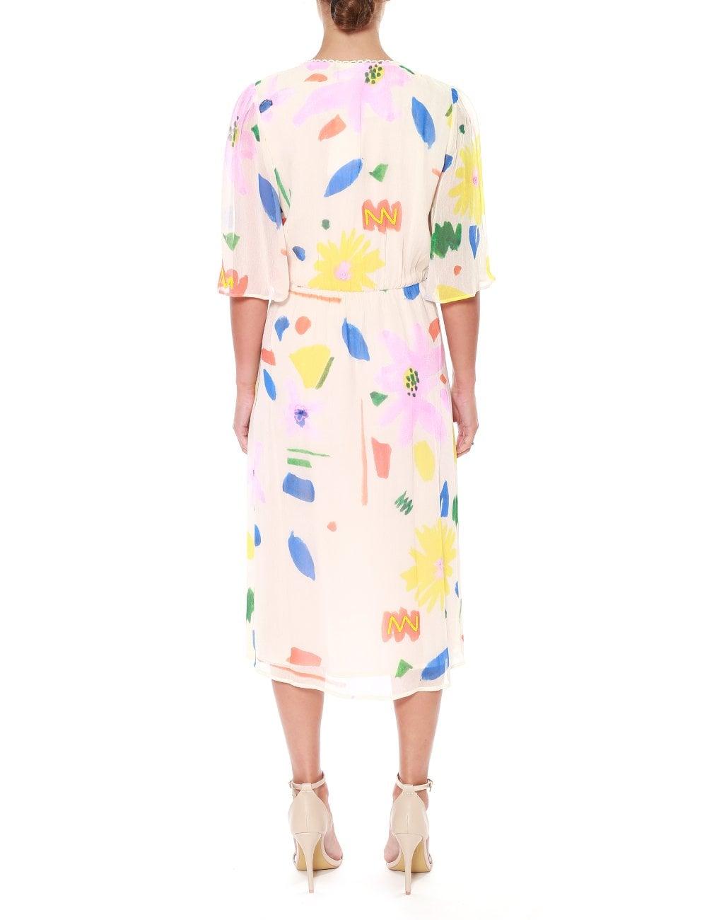 84e141660472c WOMENS AUDREY PRINTED & EMBELLISHED MAXI DRESS