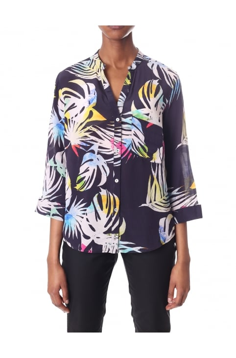 Women's Hive Printed Blouse