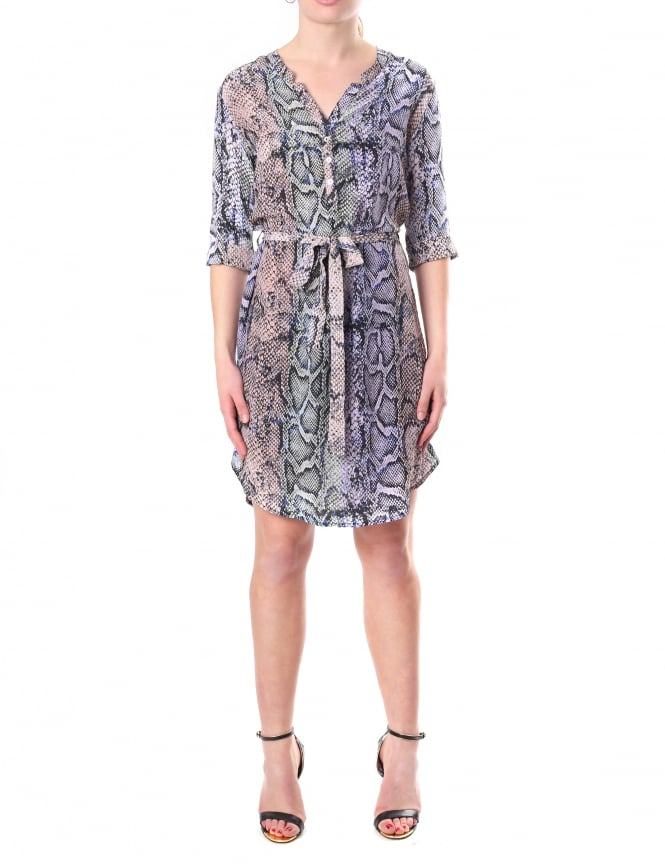 PYRUS Women's Printed Snake Dress
