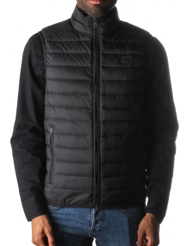 100% genuine sale uk offer discounts Armani Jeans Quilted Men's Zip Through Gilet