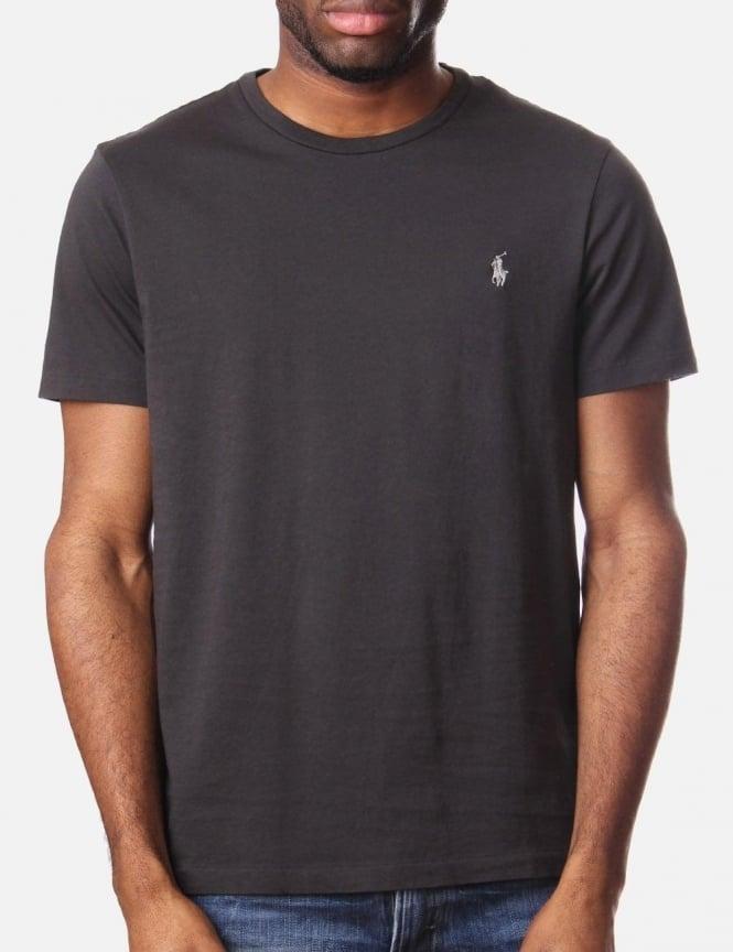 dark grey ralph lauren t shirt