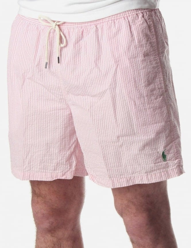 113e1c81 Ralph Lauren Hawaiian Boxer Men's Swim Shorts Pink