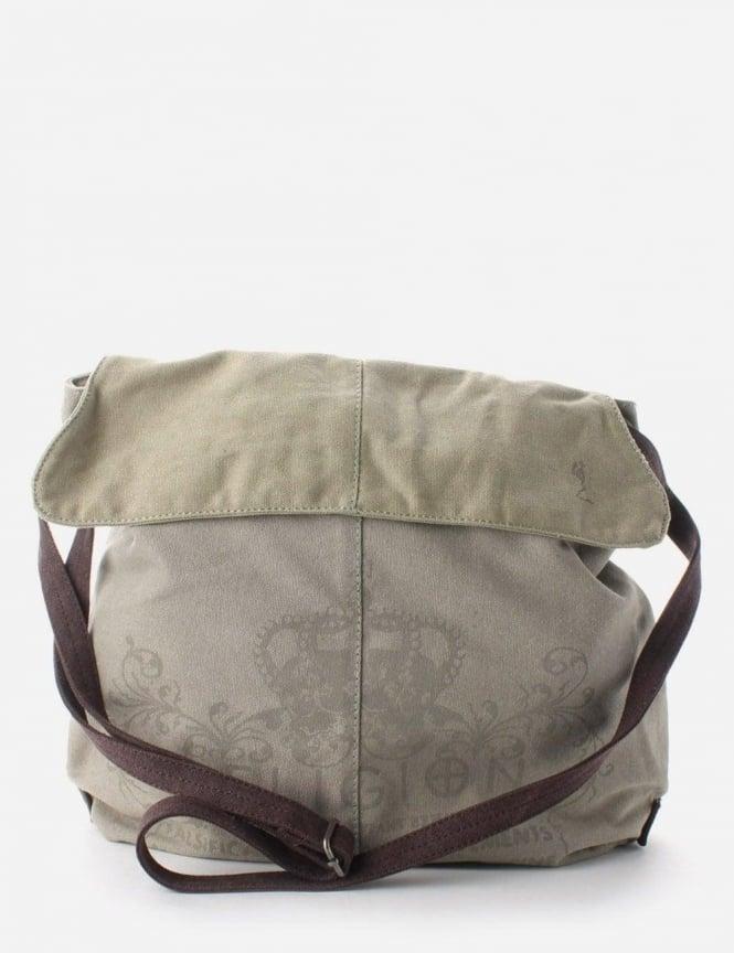 4e0432633e3 Heir Washed Canvas Shoulder Bag Stone