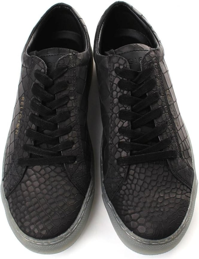 efc014927 Religion Men s Croc Shoes Black