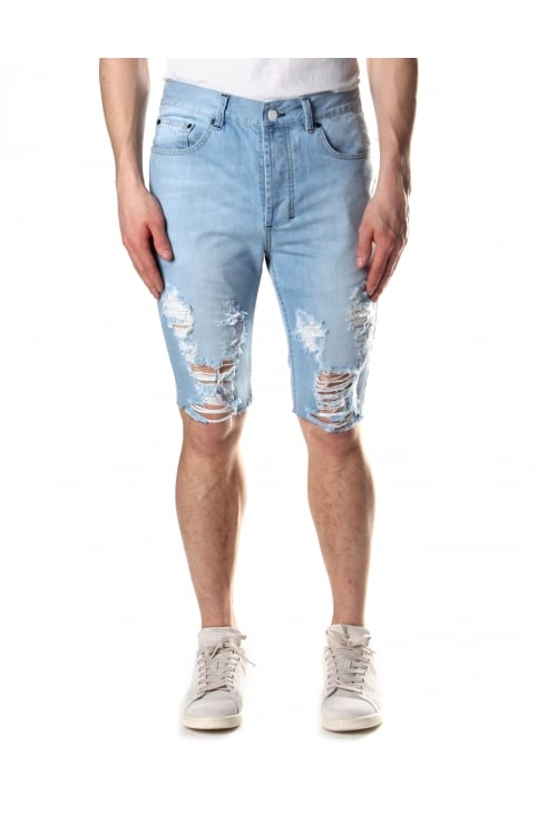 Men's Slashed Shorts
