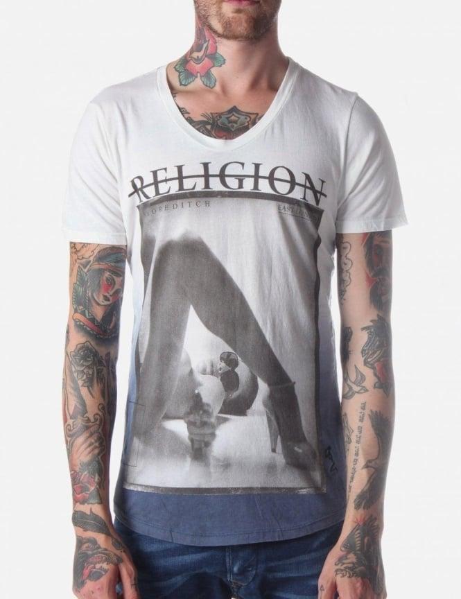 9c3b7926 Religion Nikita Men's T-Shirt Print Dark Blue