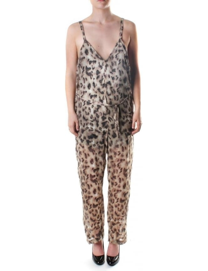 Religion Off Beat Women's Animal Print Jumpsuit