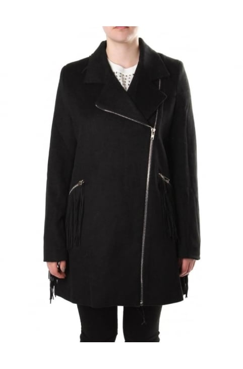 Resplendent Women's Coat Black