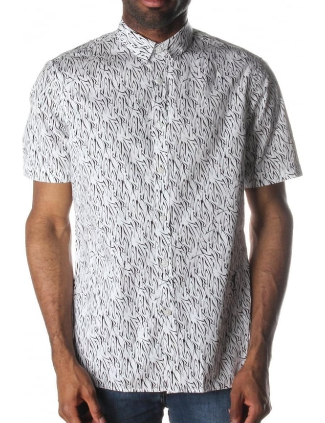 Religion Tribe Men's Shirt White/Black