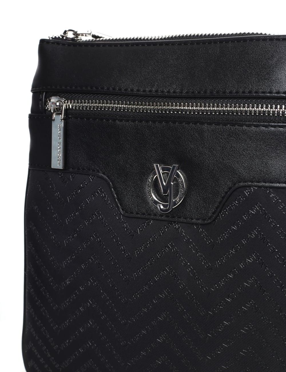9e4454bac9 Versace Jeans Repeat Logo Men's Linea Messenger Bag