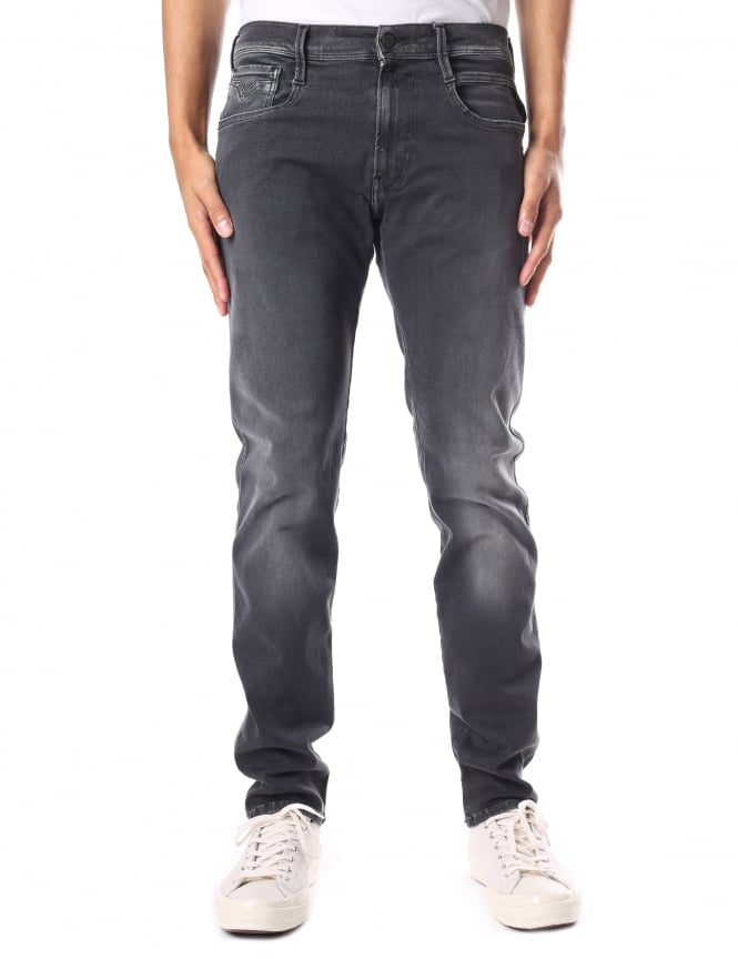 Replay Anbass Men's Hyper Flex Jean