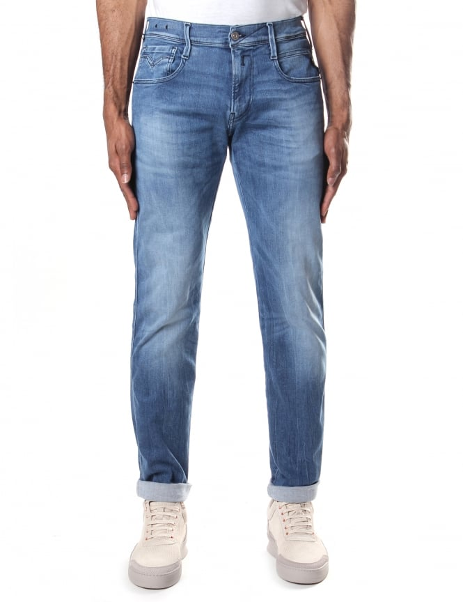 Replay Anbass Men's Hyperflex Jean