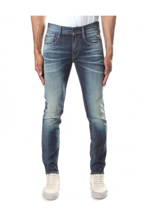 Anbass Men's Slim Fit Jeans