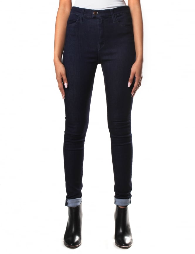 Replay High Waist Women's Skinny Fit Touch Jean