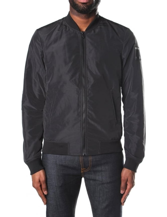 Replay bomber jacket