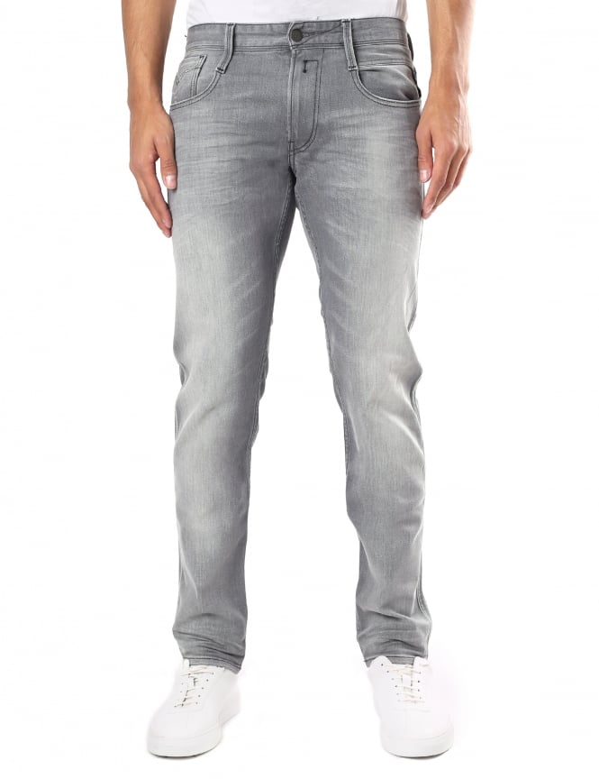 Replay Men's Anbass Slim Fit Jeans