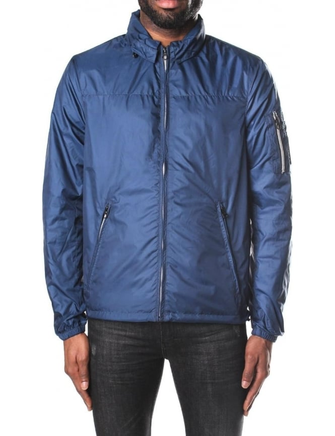 Replay Men's Nylon Hooded Jacket