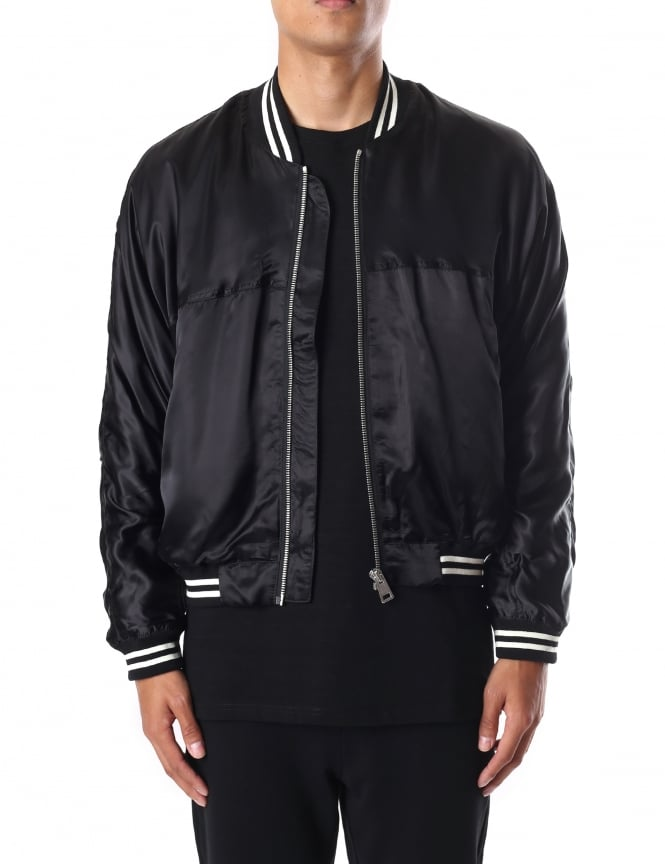 Represent Men's Silk Bomber Jacket