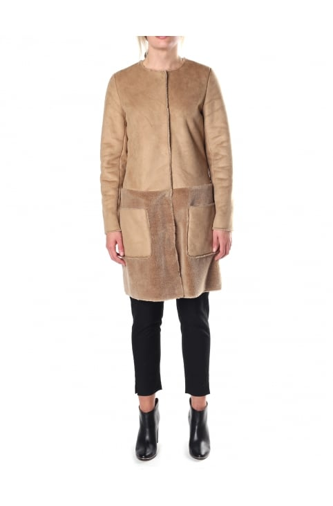 Charo Women's Shearling Panelled Coat