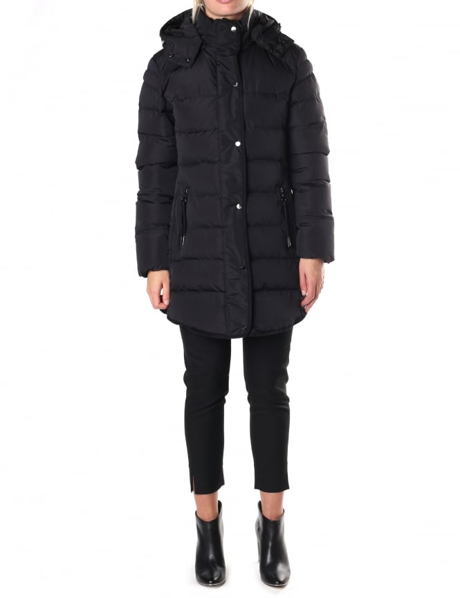 RINO & PELLE Women's Nusa Quilted Hooded Coat