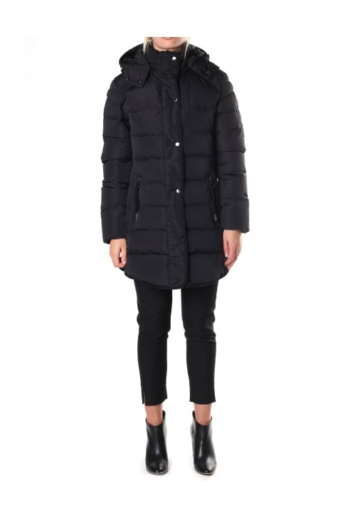 Women's Nusa Quilted Hooded Coat