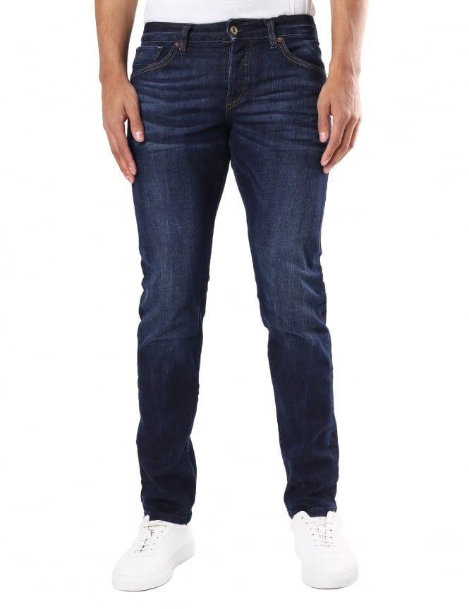 Scotch & Soda Men's Ralston Regular Slim Fit Jeans