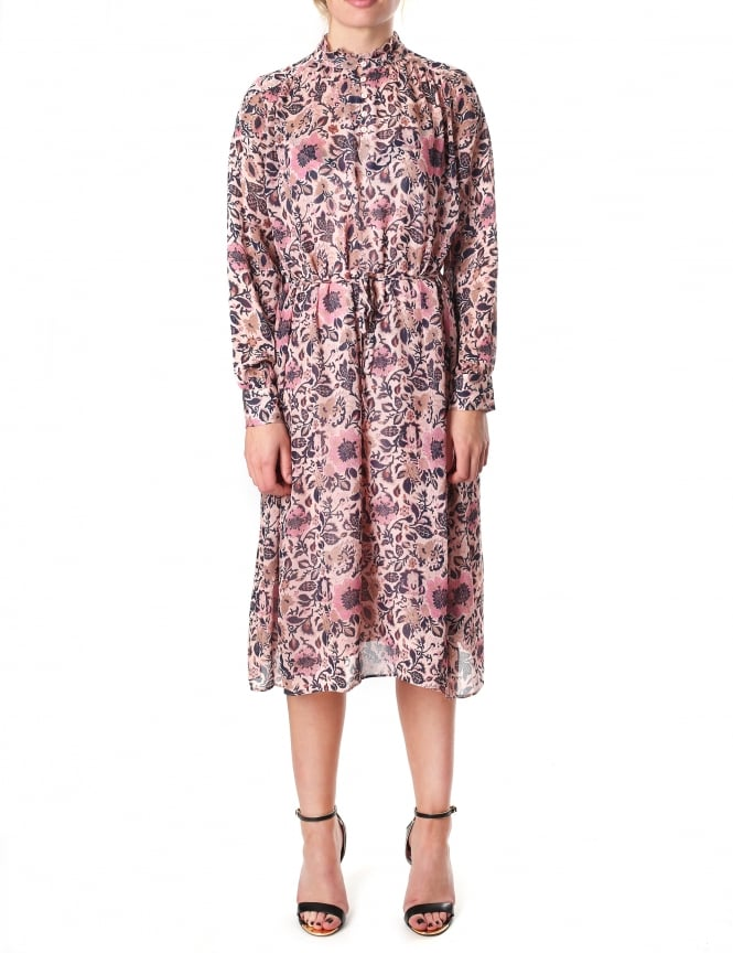 Second Female Laisa Woman's Floral Printed Dress